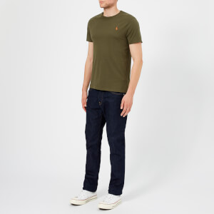 Polo Ralph Lauren Men's Basic Crew Neck Short Sleeve T-Shirt - Expedition Olive: Image 3