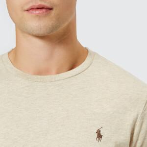 Polo Ralph Lauren Men's Basic Crew Neck Short Sleeve T-Shirt - Expedition Dune Heather: Image 4