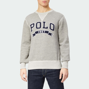 Polo Ralph Lauren Men's Large Polo Crew Neck Sweatshirt - Battalion Heather