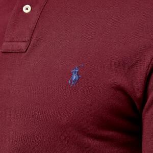 Polo Ralph Lauren Men's Slim Fit Short Sleeve Polo Shirt - Classic Wine: Image 4