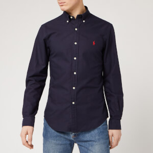 Polo Ralph Lauren Men's Oxford Shirt - RL Navy