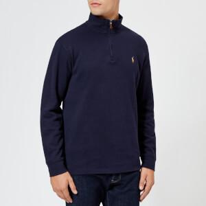 Polo Ralph Lauren Men's Half Zip Sweater - Navy