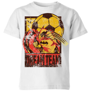 DC Comics Batman Dream Team Punch Kinder T-Shirt - Weiß
