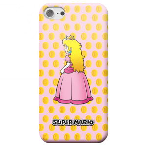 Coque Smartphone Princesse Peach - Nintendo Super Mario pour iPhone et Android