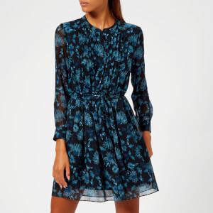 Whistles Women's Pitti Print Shirt Dress - Blue/Multi