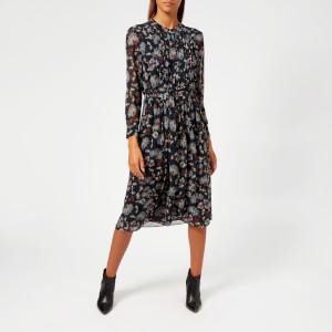 Whistles Women's Pitti Print Midi Shirt Dress - Brown/Multi