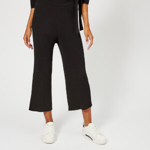 Whistles Women's Rib Detail Culottes - Black