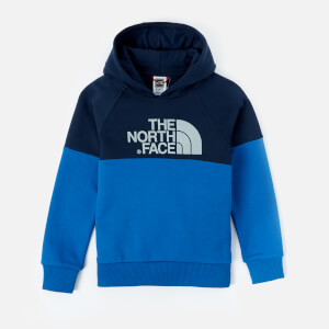 The North Face Boys' Youth Drew Peak Raglan Hoody - Cosmic Blue