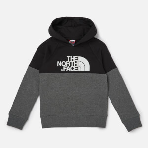 The North Face Boys' Youth Drew Peak Raglan Hoody - TNF Black
