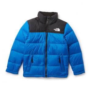 The North Face Boys' Nuptse Down Jacket - Turkish Sea