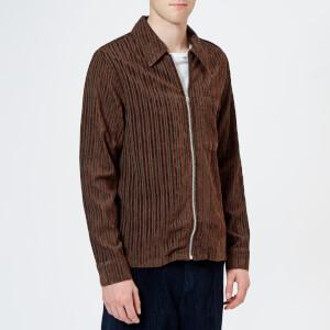 Our Legacy Men's Drip Corduroy Shirt - Brown