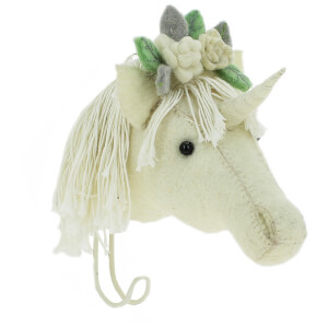 Fiona Walker England Flower Unicorn Hook