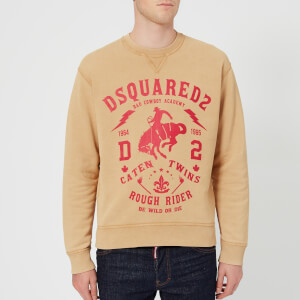 Dsquared2 Men's Dan Fit Fade Sweatshirt - Beige