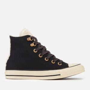 Converse Women's Chuck Taylor All Star Hi-Top Trainers - Black/Natural Ivory/Rust Pink