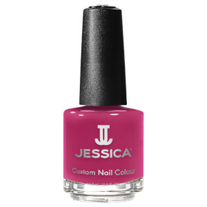 Jessica Nails Custom Colour Festival Fuchsia Nail Varnish 15 ml