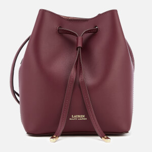 Lauren Ralph Lauren Women's Debby Mini Drawstring Bag - Merlot/Rose Smoke