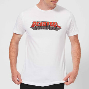 Marvel Deadpool Logo Men's T-Shirt - White