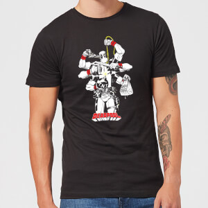Marvel Deadpool Multitasking T-shirt - Zwart