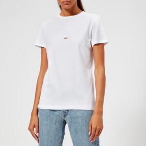 Helmut Lang Women's Taxi Paris T-Shirt - White