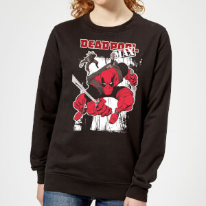 Marvel Deadpool Max Women's Sweatshirt - Black