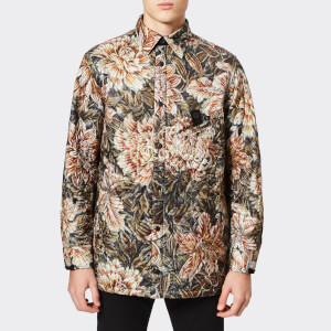 Y-3 Men's All Over Print Quilted Shirt - Flower Camo AOP