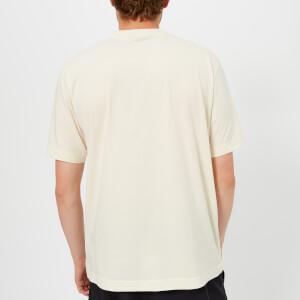 Y-3 Men's Stacked Logo Short Sleeve T-Shirt - Champagne/Black: Image 2