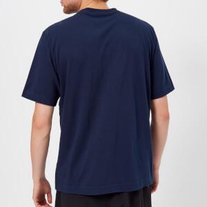 Y-3 Men's Stacked Short Sleeve T-Shirt - Night Indigo: Image 2