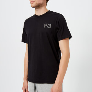 Y-3 Men's Short Sleeve T-Shirt - Black
