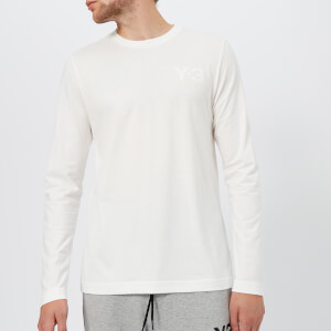 Y-3 Men's Classic Long Sleeve T-Shirt - Core White