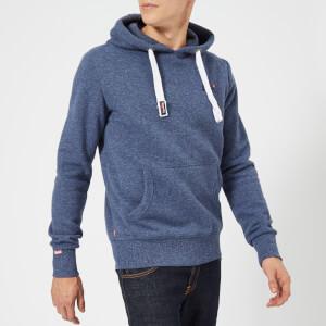 Superdry Men's Orange Label Hoody - Maritime Grit
