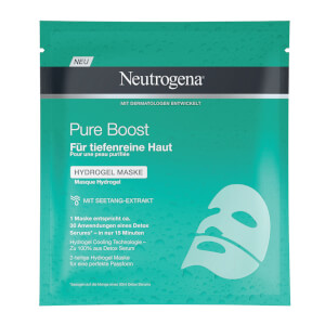 Neutrogena® Pure Boost Hydrogel Maske