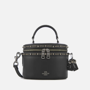 Coach Women's Crystal Embellished Selena Trail Tote Bag - Black