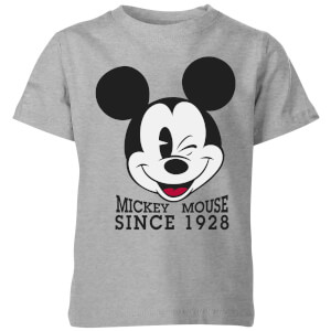 Disney Since 1928 Kids' T-Shirt - Grey