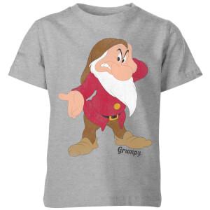 T-Shirt Enfant Disney Grognon Blanche-Neige - Gris