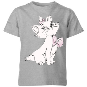 Disney Aristocats Marie Kinder T-Shirt - Grau