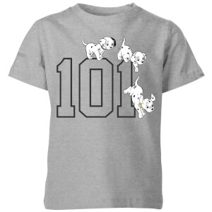 Disney 101 Dalmatiner 101 Doggies Kinder T-Shirt - Grau