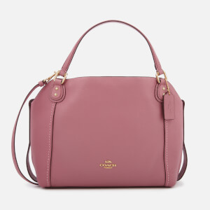 Coach Women's Leather Edie 28 Shoulder Bag - Rose