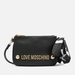 Love Moschino Women's Scarf Shoulder Bag - Black