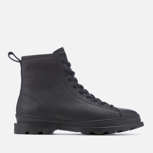 Camper Men's Lace Up Boots - Black