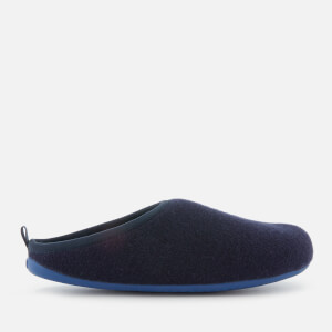 Camper Men's Wabi Wool Slippers - Navy