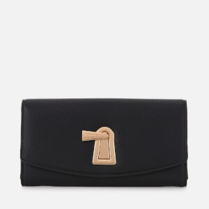 Dune Women's Karroww Turn Lock Purse - Black