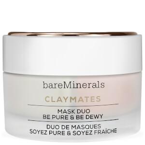 bareMinerals Double Duty Clay Mask Duo: Purify & Hydrate maseczka glinkowa: oczyszczenie i nawilżenie