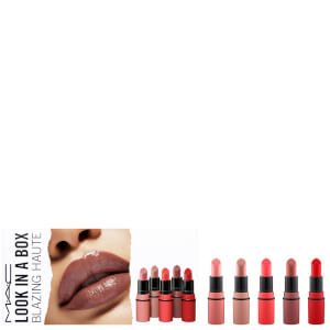 MAC Look in a Box Lipstick Kit - Blazing Haute