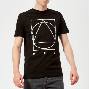 McQ Alexander McQueen Men's Curtis Band Icon Short Sleeve T-Shirt - Darkest Black