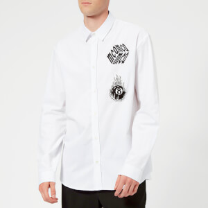 McQ Alexander McQueen Men's Sheehan McQ Cube Shirt - Optic White