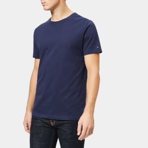 Tommy Hilfiger Men's 2 Pack Short Sleeve Crew Neck T-Shirt - Navy