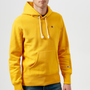 Champion Men's Overhead Hoodie - Yellow