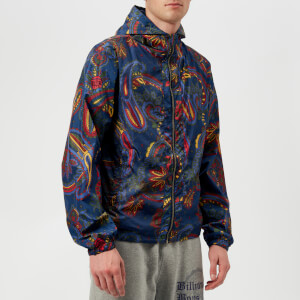 Billionaire Boys Club Men's Paisley Nylon Jacket - Blue