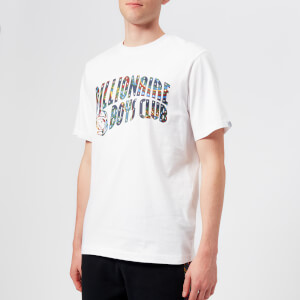 Billionaire Boys Club Men's Paisley Arch Logo T-Shirt - White