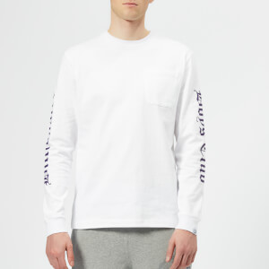 Billionaire Boys Club Men's College Long Sleeve T-Shirt - White